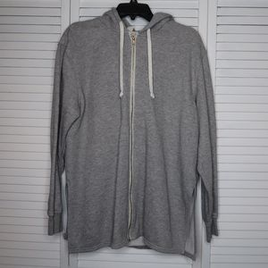H&M grey cardigan sweater jacket